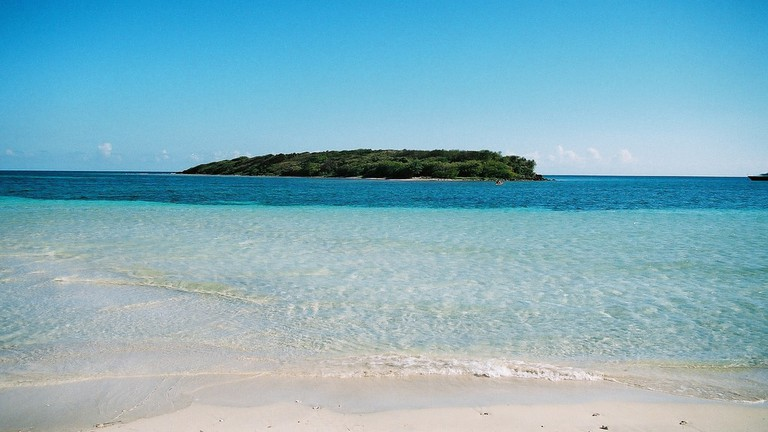 Playa Chiva, also known as Blue Beach, is just one of the many exquisite beaches you can visit while staying on Vieques