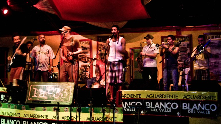 Live salsa in Colombia