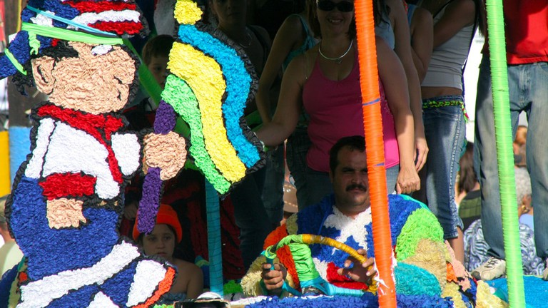 Festivals in Puerto Rico are celebrations of color