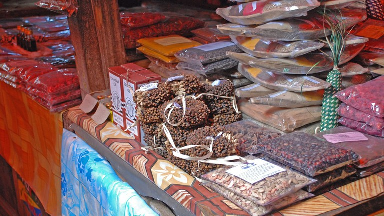 Spices at Darajani market