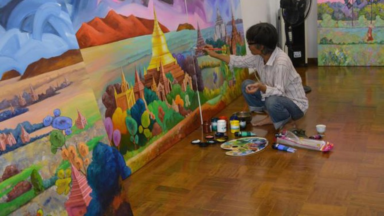 Nawaday Tharlar Gallery, Rangoon