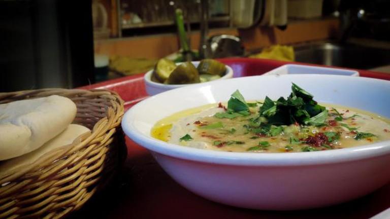Hummus at Akramawi
