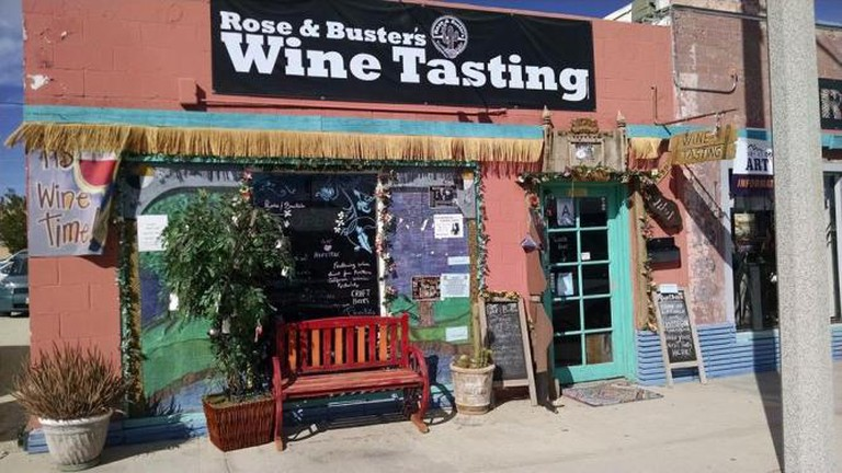 Rose and Buster's Winetasting Room