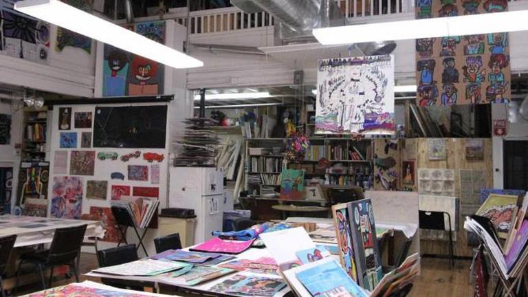 Artist Studio at Creativity Explored