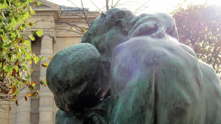 Rodin at Tuileries