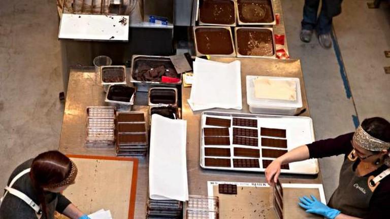 Dandelion Chocolate making process