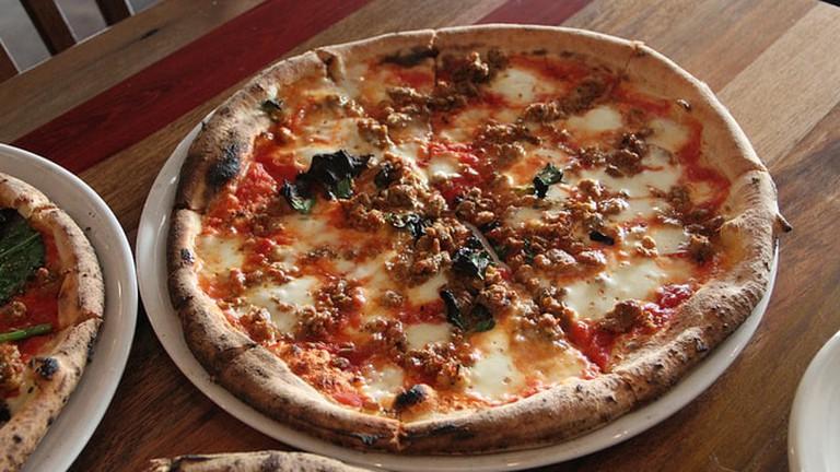 Cane Rosso serves Neopolitan pizza