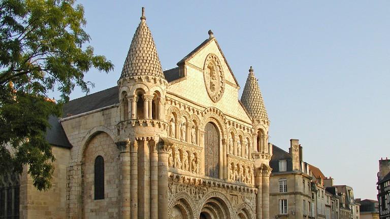 Notre Dame la Grande. Poitiers (Vienne)