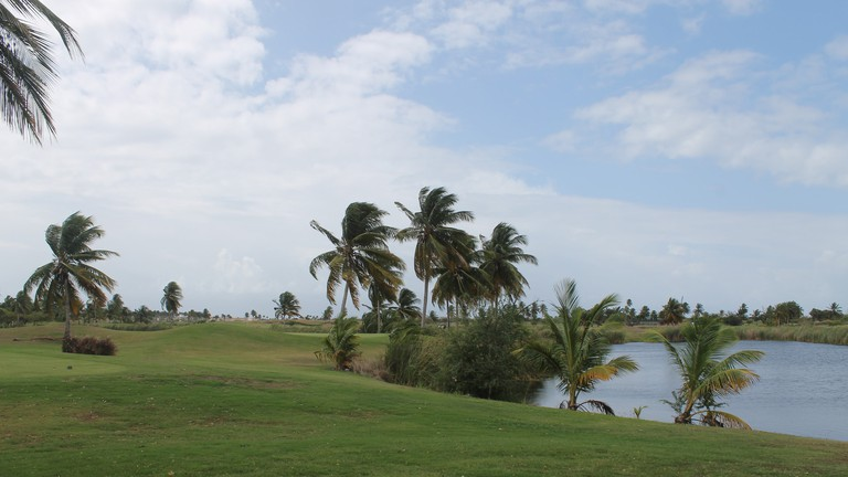 Costa Caribe Golf Course is beautiful and challenging