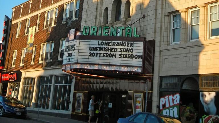 Oriental Landmark Theatre in Milwaukee, Wisconsin