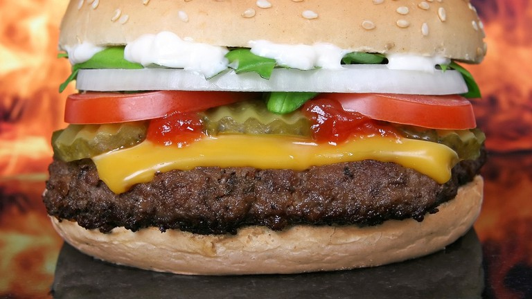 food-hamburger
