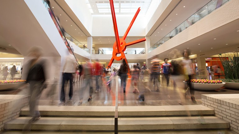 NorthPark Center is home to a large collection of modern artwork