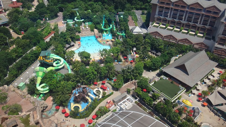 Adventure Cove Waterpark in Sentosa Singapore