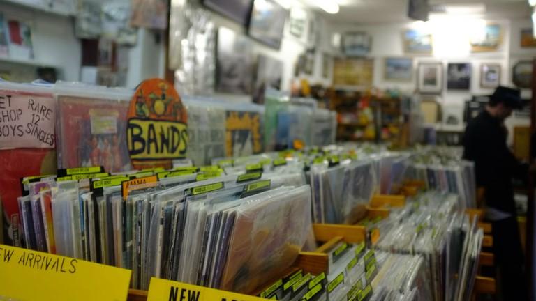 Elvis Shakespeare in Edinburgh stocks rare vinyl and quality literature