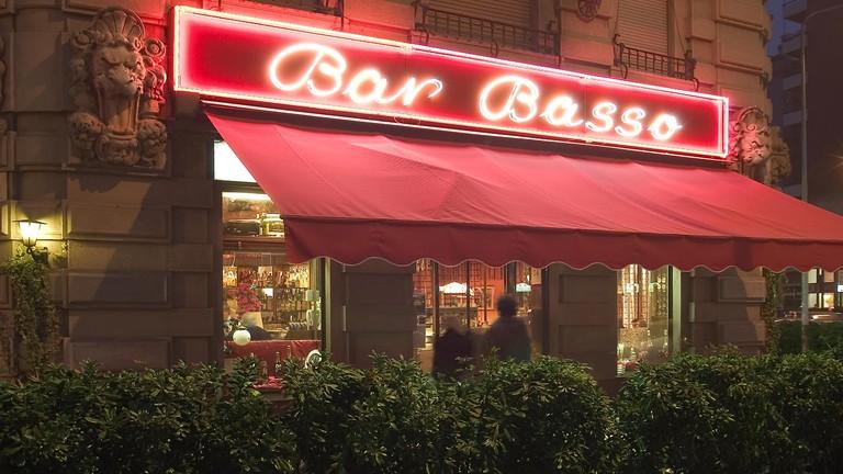 The legendary Bar Basso, Milan | Courtesy Bar Basso Photo: Andrea Zani