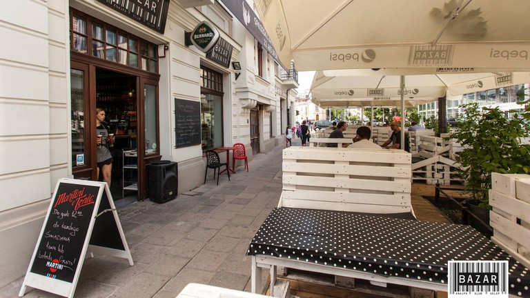 The 24 hour Bazar Klub in Praga   © Bazar