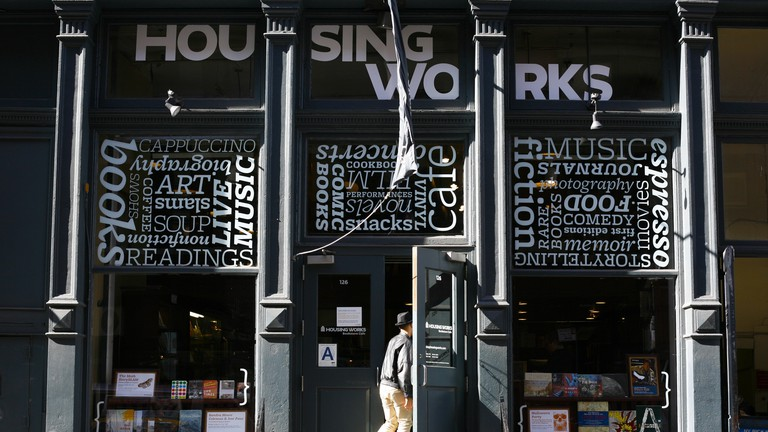 Housing Works serves as both a bookstore and café