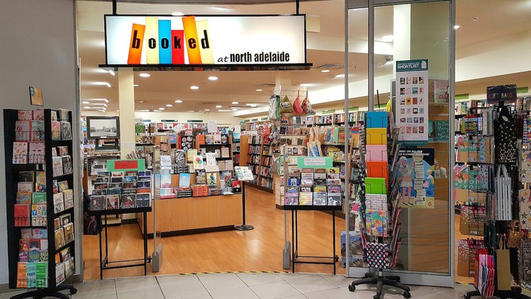 Booked at North Adelaide store front © Courtesy of Booked