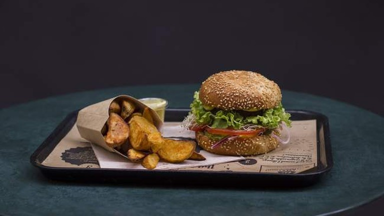 Hankburger vegan burgers