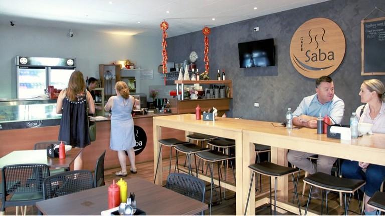 Cafe Saba interior © Cafe Saba