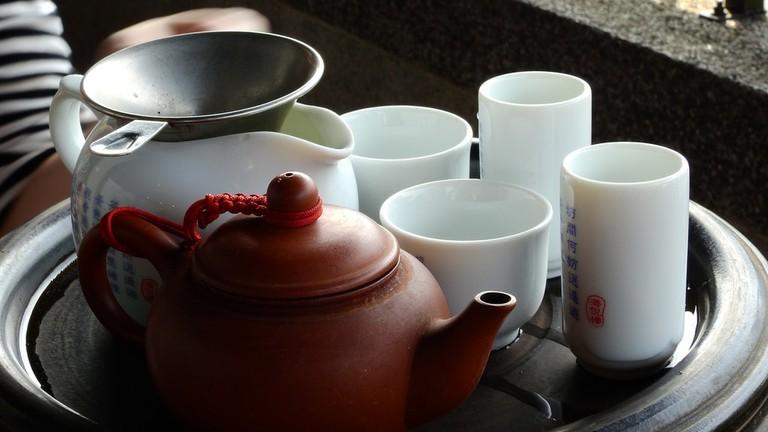 Chinese tea set © ume-y/Flickr