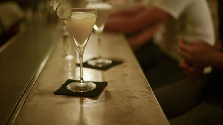 Order your drinks omakase style (leaving it up to the bartender), and be prepared for a surprise