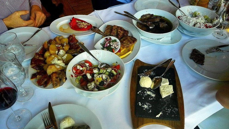 Traditional cuisine at Durmitor