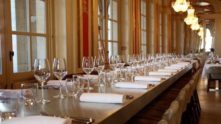 Enjoy your meal in this fantastic venue Courtesy of le Quatrième Mur
