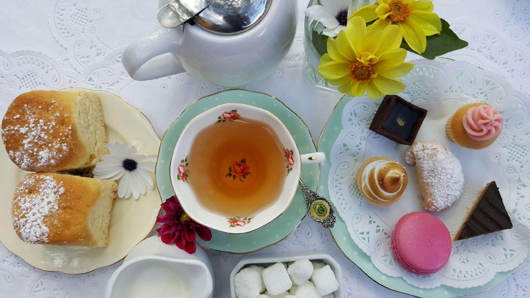 Gatehouse Tea Rooms high tea © Gatehouse
