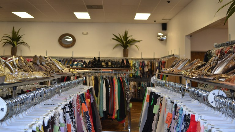 Profits from the Genesis Benefit Thrift Store benefit women and children in the Genesis Women's Shelter