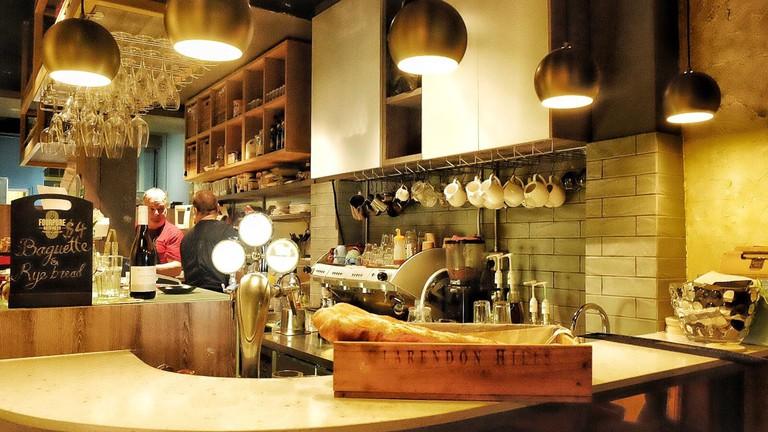 The Muffinry interiors