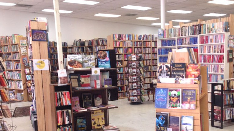 Lucky Dog Books offers two locations that sells second-hand books