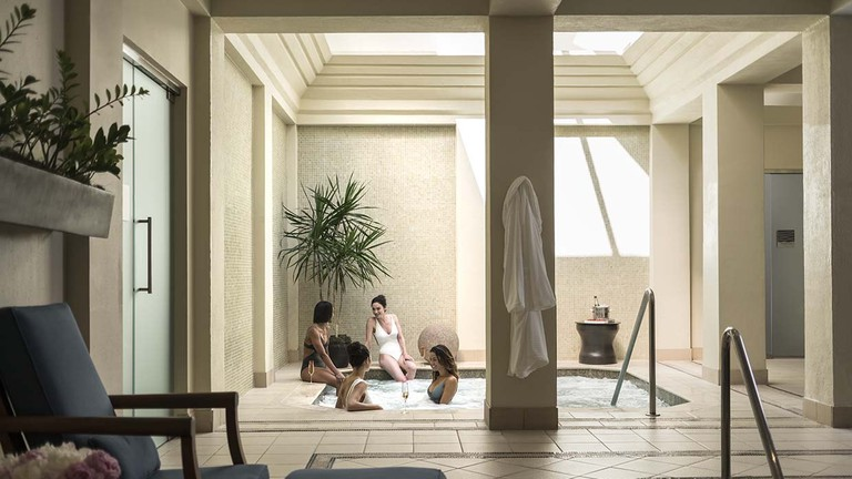 The Four Seasons Resort and Club Dallas at Las Colinas has relaxing spa facilities