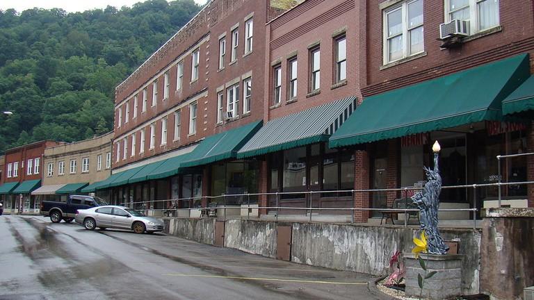 Matewan_Historic_District;_Matewan,_West_Virginia