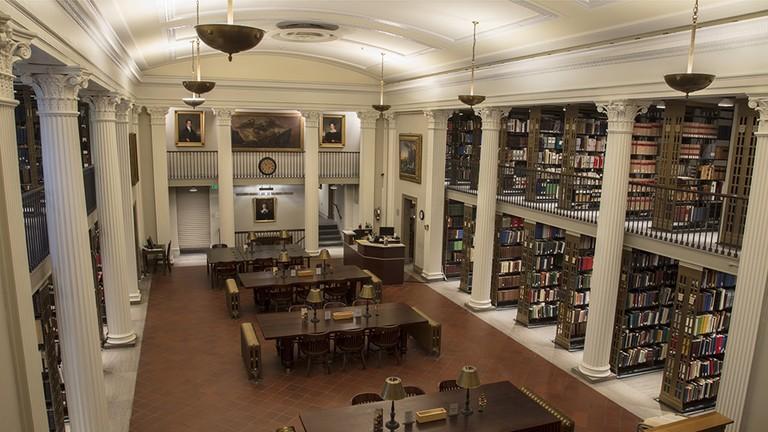 Most Beautiful Libraries Baltimore MdHS H. Furlong Baldwin Library 2017