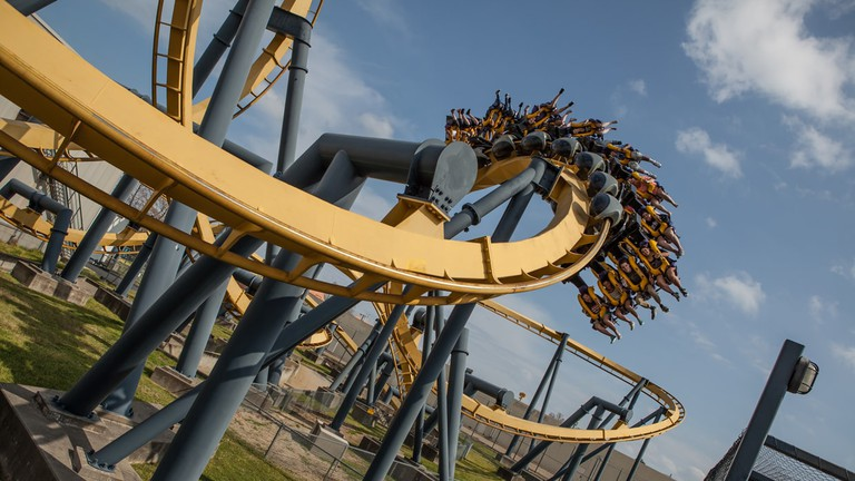 The Batman offers riders twists and turns