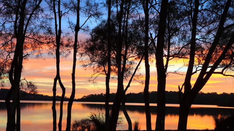 Narrabeen lagoon © Shutterstock