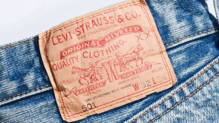 Pair of Levi's jeans