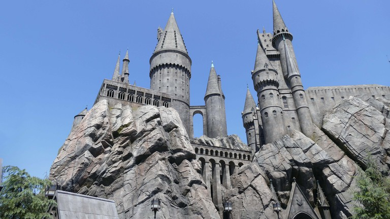 Hogwarts Castle Universal Studios Hollywood Los Angeles California U.S.A.