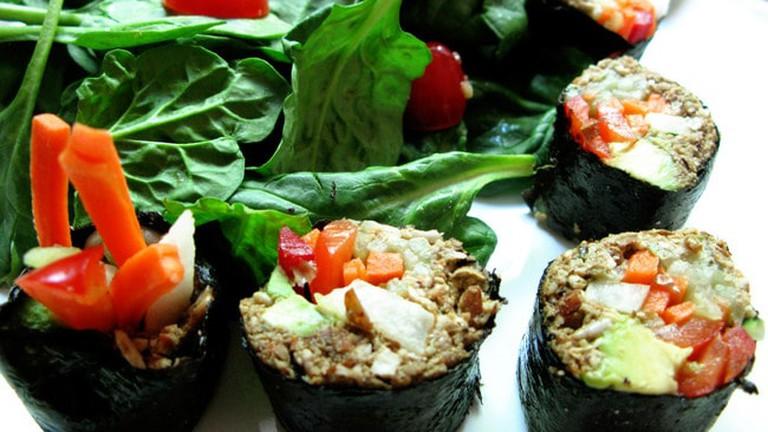 Raw Vegan Sushi