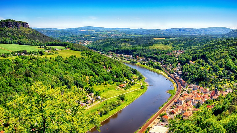 River Elbe, Saxon-Switzerland