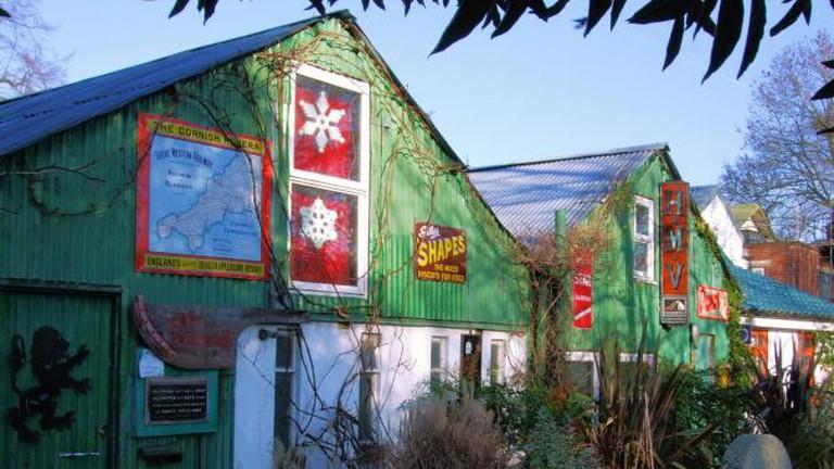 Houses on Eel Pie Island