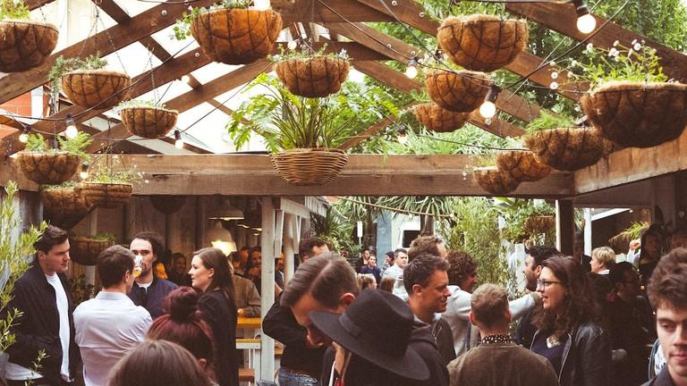 Roxie's beer garden © Courtesy of Roxie's