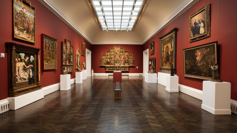 Meadows Museum has a large collection of Spanish art with pieces by El Greco, Goya, and Picasso