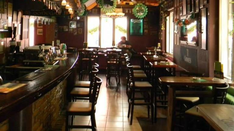 An Irish Pub, if you weren't aware