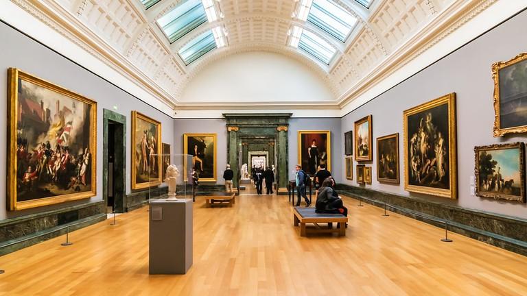 Interior of Tate Britain | © Kiev.Victor/Shutterstock