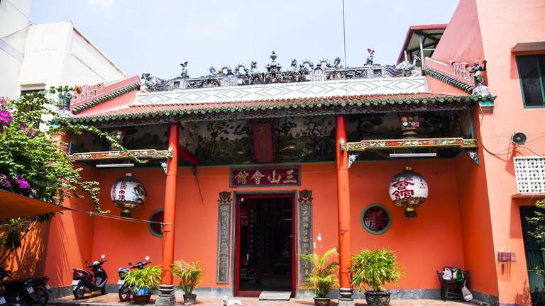 Tam Son Hoi Quan Pagoda | © melis/Shutterstock