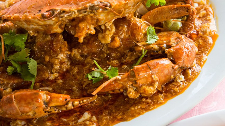 Singapore Jumbo Seafood Chilli Crab