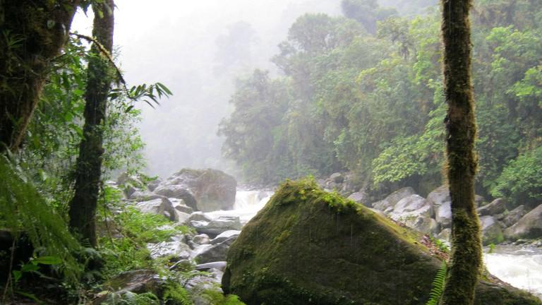 Tapantí National Park in Costa Rica