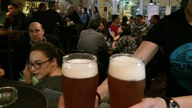 Another popular bar in Novi Sad